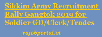 Sikkim Army Open Bharti 2019