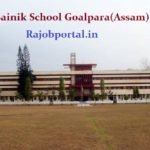 Sainik School Assam Vacancy